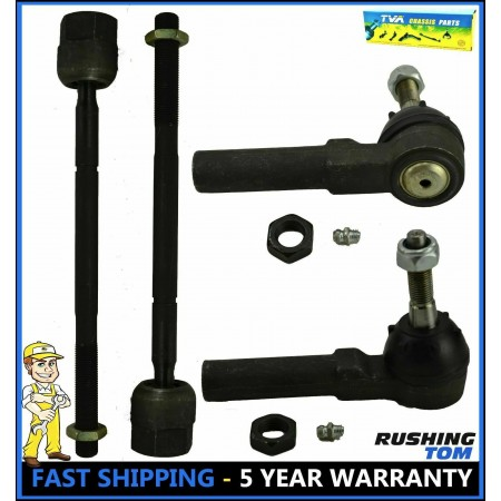 Tie Rod End Front Inner & Outer Set for Chrysler PT Cruiser Dodge Plymouth Neon