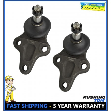2 Front Driver & Passenger Lower Ball Joint for Chevrolet GMC Geo Tracker Suzuki