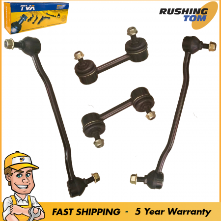 4 Front & Rear Sway Bar Link Suspension Kit for Nissan Altima Maxima 2002-2006