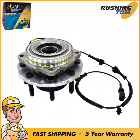 1 Front Wheel Hub & Bearing Left & Right for Super Duty with ABS 4WD