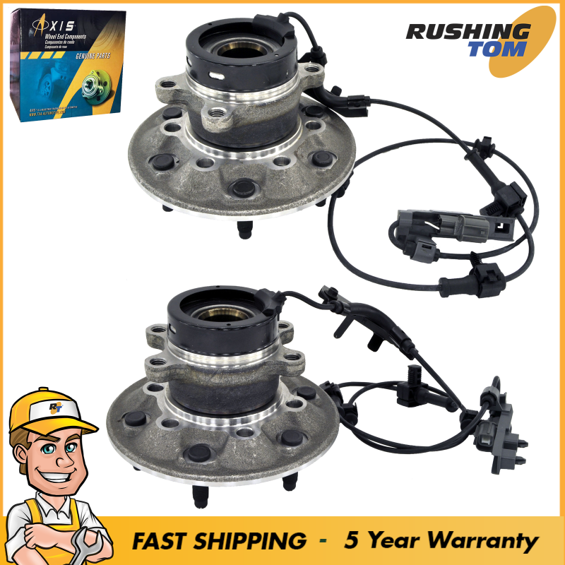 2 Front Wheel Bearing & Hub Assembly 2004 - 2008 Chevy ...