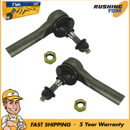 2 Front Outer Tie Rod fits 2007-2013 Chrysler Dodge Jeep