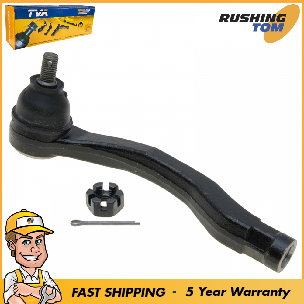1 Front Left Outer Tie Rod For 1997-2000 Acura EL 1997