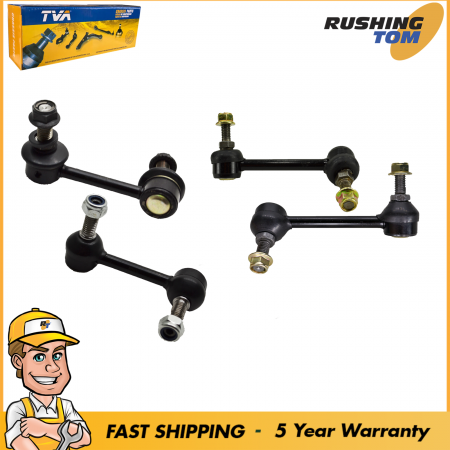 Front Rear Stabilizer Sway Bar Link 4Pc Kit for 04-2007 Chevrolet Trailblazer