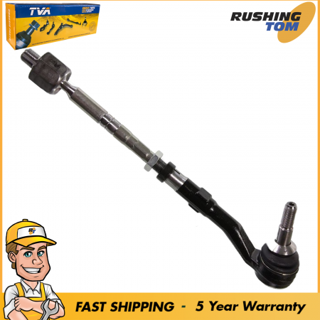 Front Tie Rod Assembly Inner & Outer Tie Rod for BMW 528i 5 Series