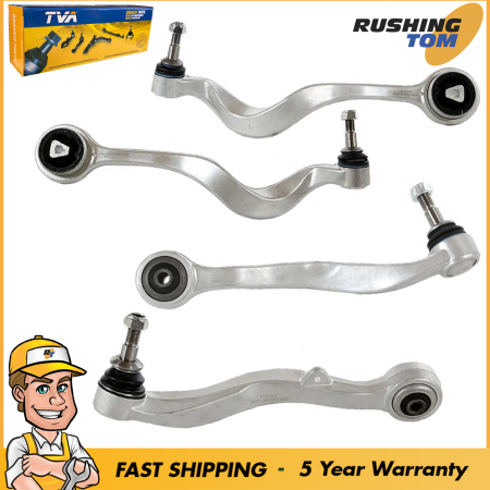 4Pc Lower Control Arm with Ball Joint Forward Rearward for BMW 5 Series E60 E61