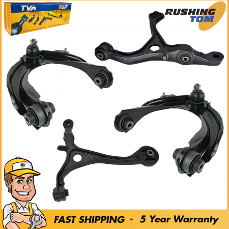 Front Kit Lower & Upper Control Arm fits Honda Acura with 5 Year Warranty