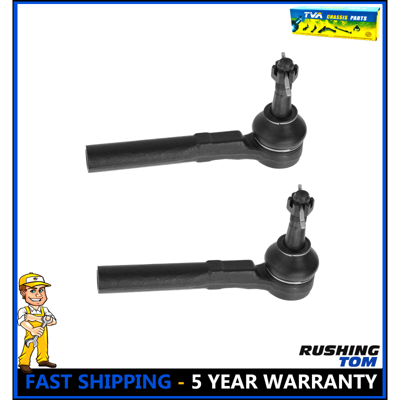 Front Outer Tie Rod for Buick Chevrolet Malibu Oldsmobile Pontiac Grand Am