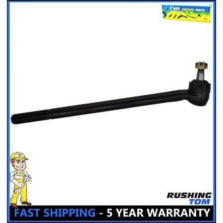 1 Front Left Inner Tie Rod Drag Link for 1985-1994 Ford F-250-4WD