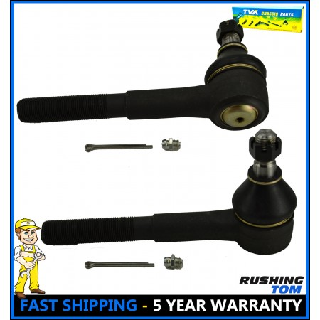 GMC Chevy P30 G10 G20 G30 R2500 R3500 P3500 Pair 2 Front Outer Tie Rod End